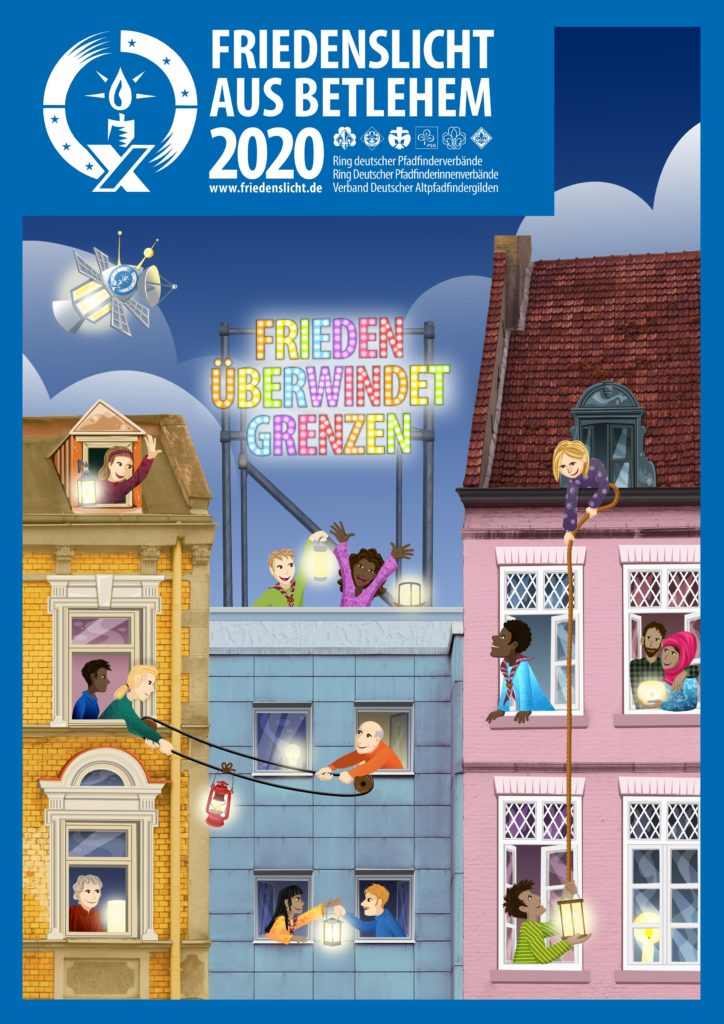 Plakat Friedenslicht 2020