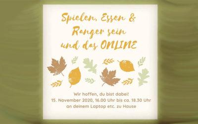 Spielen, Essen und Ranger sein | 15.11.2020