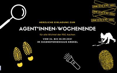 Agent*innenwochenende für Wichtel | 24. – 26.09.2021