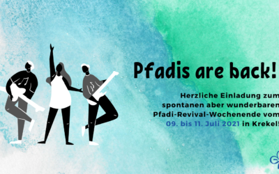 Pfadis are back! | 09. – 11.07.2021